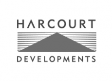 harcourt developments logo